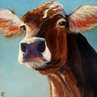 Annie the cow
