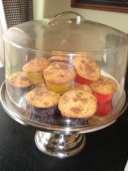 Banana muffins 009