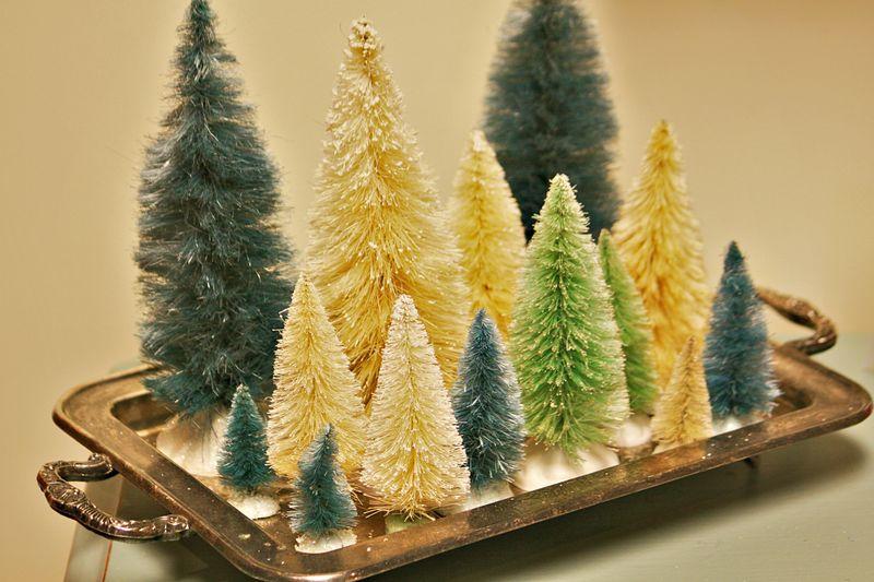 Brush trees